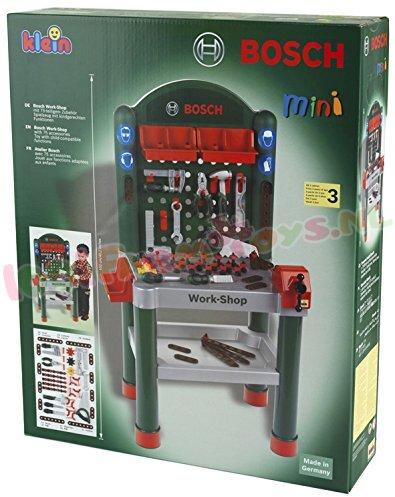 bosch kinder werkbank met toebehoren kl8320 kinder gereedschap 1001farmtoys. Black Bedroom Furniture Sets. Home Design Ideas