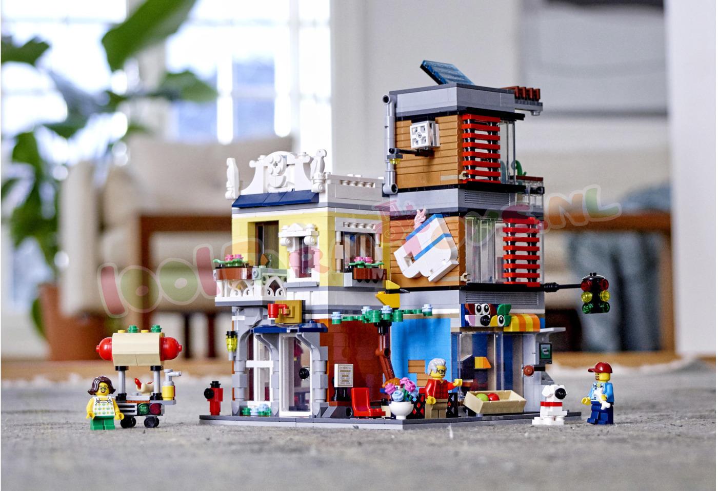 Verbazingwekkend LEGO CREATOR Woonhuis dierenwinkel & ca - 31097 - LEGO Creator LQ-95
