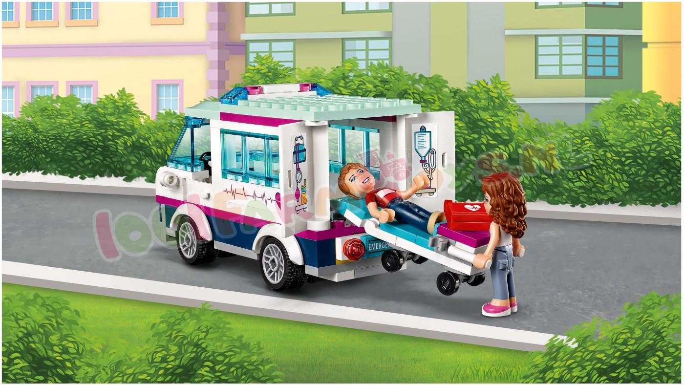 LEGO FRIENDS HEARTLAKE ZIEKENHUIS - 41318 - Uitverkocht ...