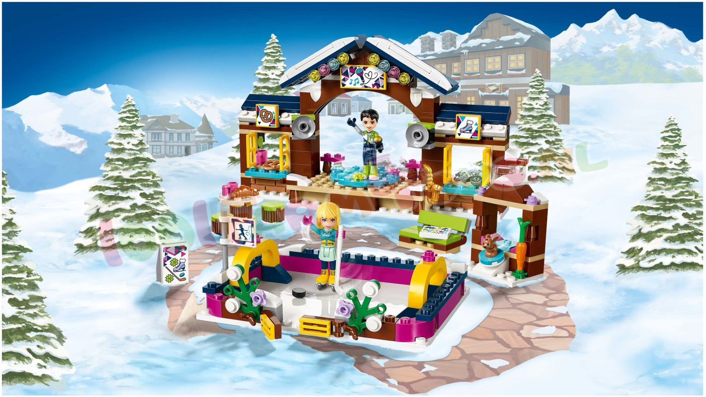 lego friends wintersport ijsbaan 41322 lego friends