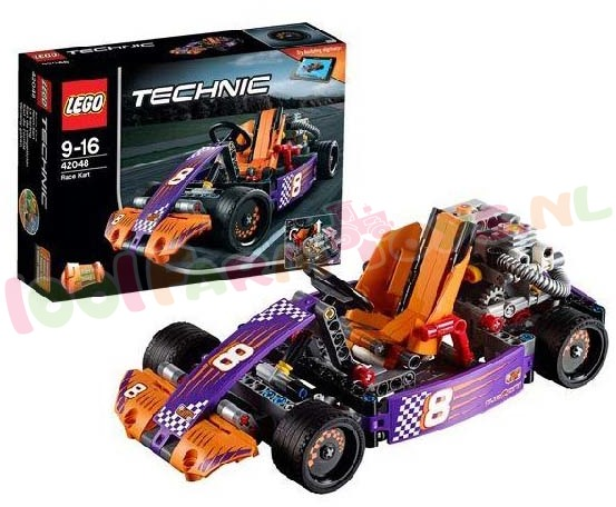LEGO TECHNIC RACEKART 2in1 model