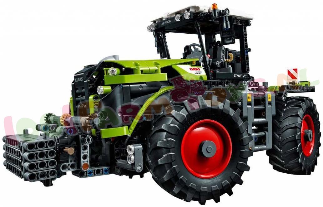 lego technic claas xerion 5000 tractor 42054 lego technic lego 1001farmtoys. Black Bedroom Furniture Sets. Home Design Ideas