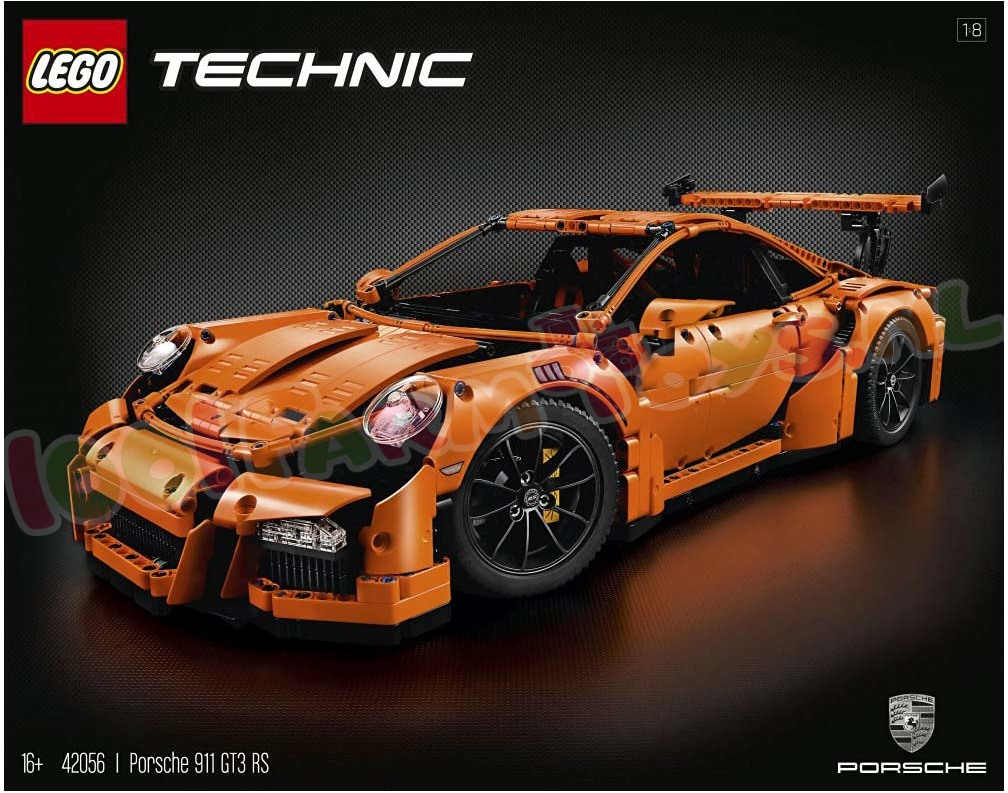 lego technic porsche 911 gt3 rs 42056 lego technic lego 1001farmtoys landbouwspeelgoed. Black Bedroom Furniture Sets. Home Design Ideas