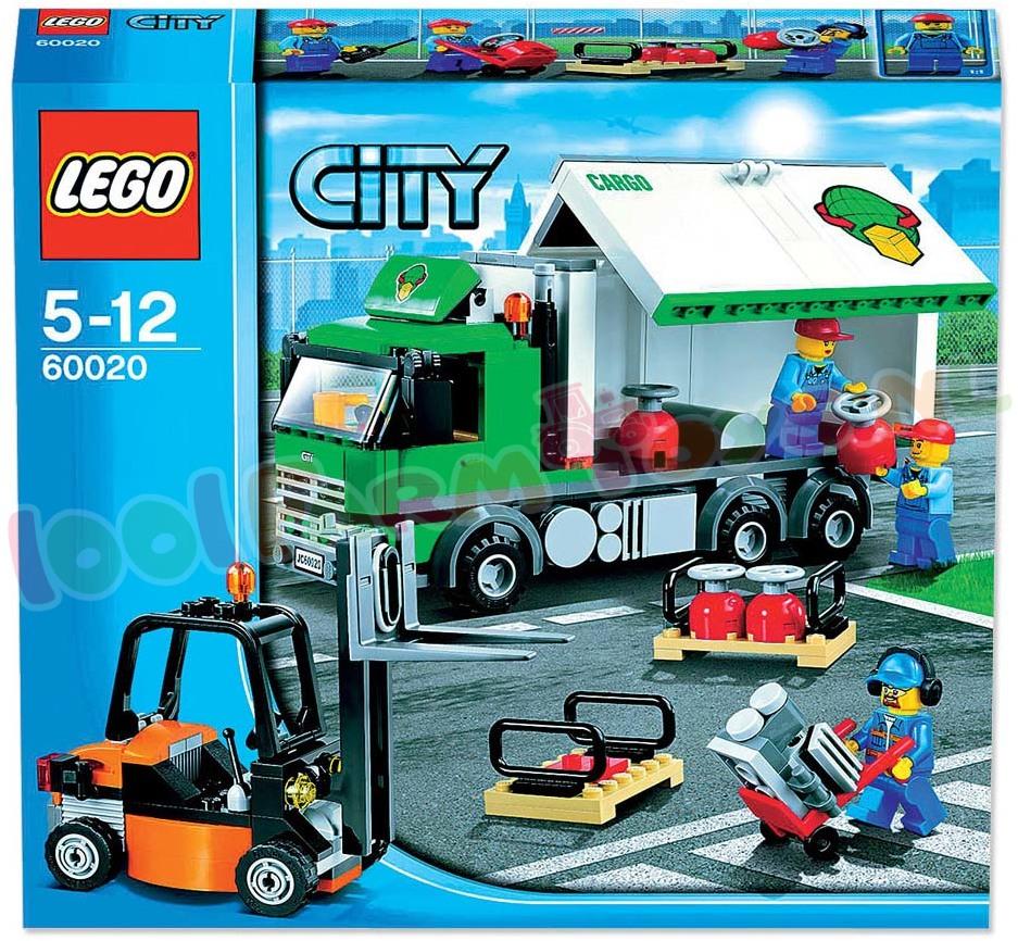 Ongebruikt LEGO CITY VRACHTWAGEN - 60020 - Uitverkocht Farm - 1001Farmtoys DC-58