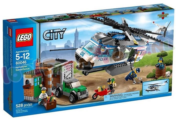 LEGO CITY HELICOPTER BEWAKING 528 ST.