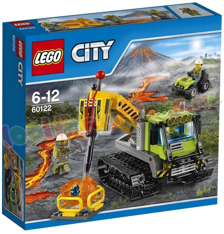 LEGO CITY VULKAAN CRAWLER