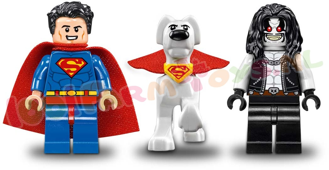 LEGO DC HEROES SUPERMAN EN KRYPTO