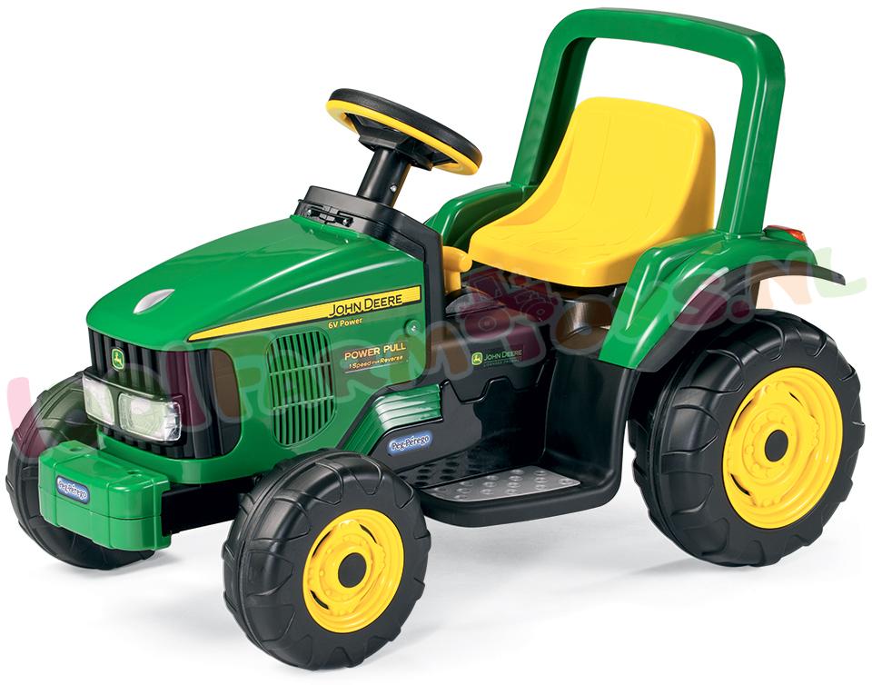 john deere elektrische pull tractor 6v peged1167 uitverkocht farm 1001farmtoys. Black Bedroom Furniture Sets. Home Design Ideas
