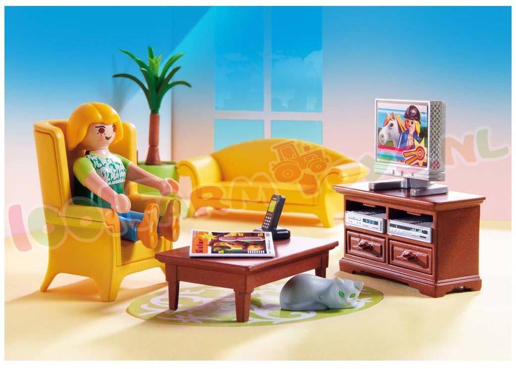 Playmobil woonkamer met houtkachel 5308 playmobil - Playmobil wohnzimmer 5332 ...