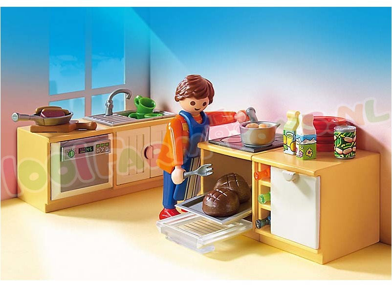 Playmobil keuken met zithoek 5336 playmobil dollhouse - Playmobil wohnzimmer 5332 ...