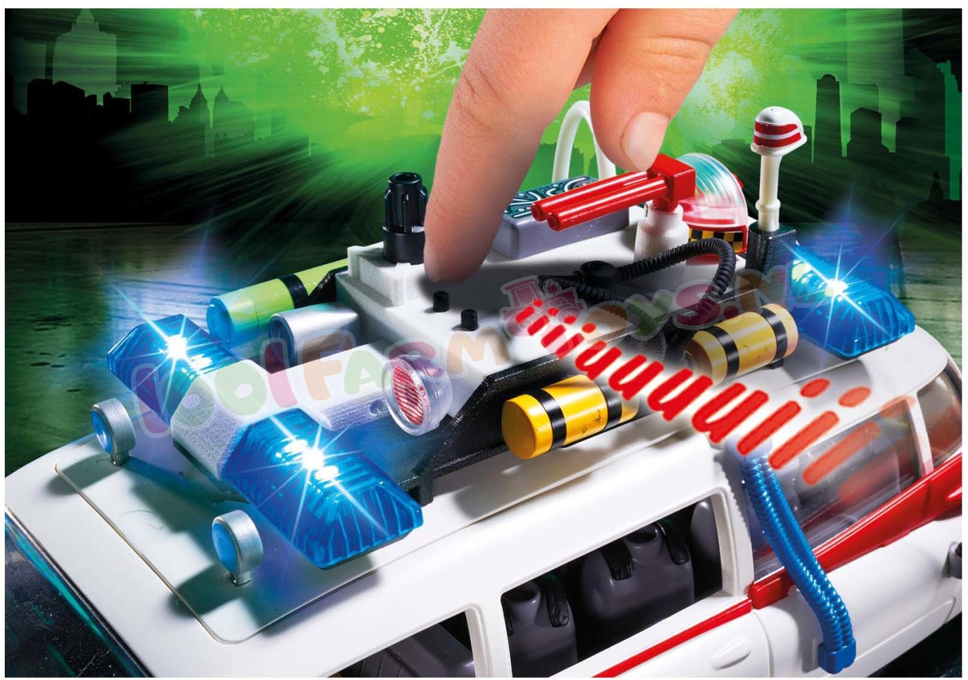 PLAYMOBIL GHOSTBUSTERS ECTO-1 AUTO