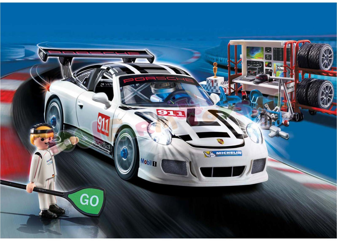 playmobil porsche 911 gt3 cup 9225 playmobil sport. Black Bedroom Furniture Sets. Home Design Ideas