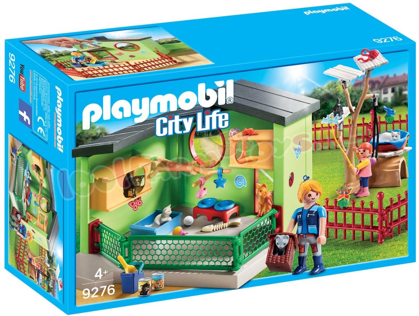 Playmobil Kattenverblijf 9276 Playmobil City Life