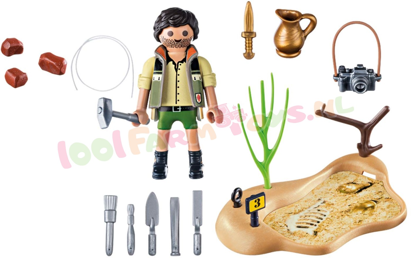 PLAYMOBIL ARCHEOLOOG