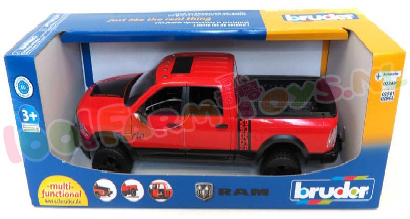 Ram 2500 Power Wagon 1 16 02500 Bruder Voertuigen