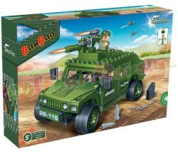 BANBAO DEFENCE FORCE BRAVE WARIOR JEEP