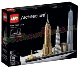 LEGO ARCHITECTURE New York City Amerika
