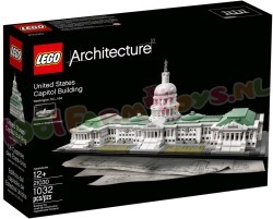 LEGO ARCHITECTURE US Capitol Building