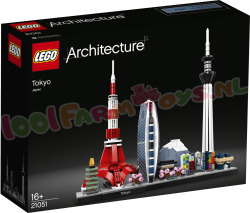 LEGO ARCHITECTURE Tokio Japan