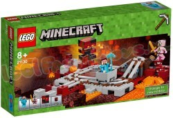 LEGO MINECRAFT DE NETHER SPOORWEG