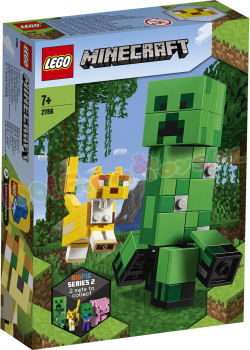 LEGO MINECRAFT BigFig Creeper en Ocelot