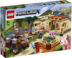 LEGO MINECRAFT De Illager Overval