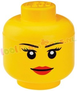LEGO OPBERGBOX HEAD GIRLS LARGE meisje