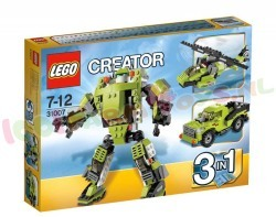 LEGO CREATOR POWER ROBOT 3in1 186 ST.