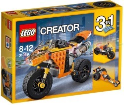 LEGO CREATOR SUNSET STRAATMOTOR 3in1