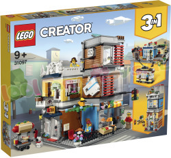 LEGO<br>CREATOR<br>FAMILIEHUIS<br>3in1<br>756<br>ST.