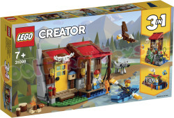 LEGO Creator Hut in de wildernis 3in1