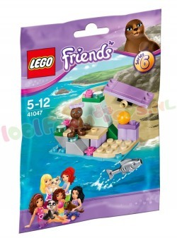 LEGO FRIENDS ZEEHONDENROTS *