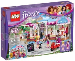 LEGO FRIENDS HEARTLAKE CUPCAKE CAFE