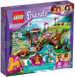 LEGO FRIENDS AVONTURENKAMP & WILD-