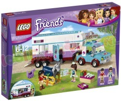 LEGO FRIENDS PAARDENDOKTER TRAILER