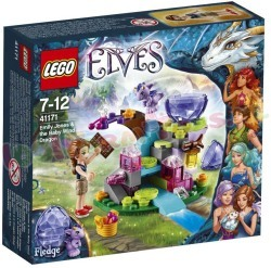 LEGO ELVES EMILY JONES + BABY WIND DRAAK
