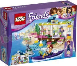 LEGO FRIENDS HEARTLAKE SURFSHOP