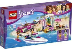 LEGO FRIENDS ANDREAS SPEEDBOOTTRANSPORT