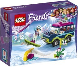 LEGO FRIENDS WINTERSPORT TERREINWAGEN