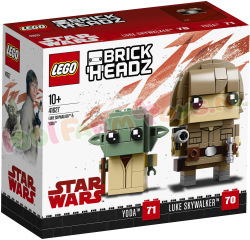 LEGO BRICKHEADZ LUKE SKYWALKER & YODA