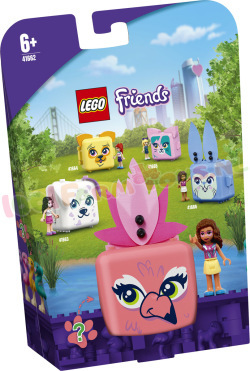 LEGO Friends Olivia's Flamingokubus