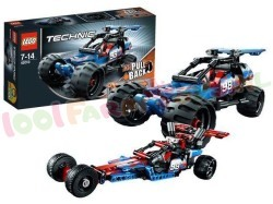 LEGO TECHNIC OFF ROAD RACER 160 ST.