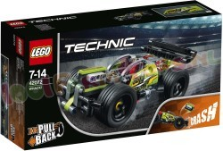 LEGO TECHNIC WACK PULL BACK AUTO