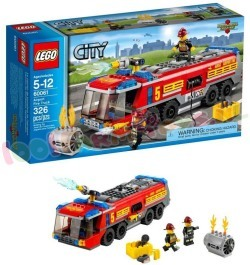 LEGO CITY LUCHTHAVEN BRANDWEER
