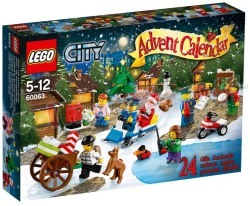 LEGO CITY ADVENT KALENDER 24 GIFTS 2014