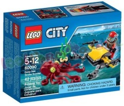LEGO CITY DIEPZEE DUIK SCOOTER