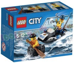 LEGO CITY POLITIE ONTSNAPPING OP BAND