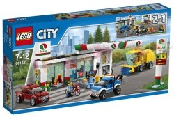 LEGO CITY STAD BENZINESTATION