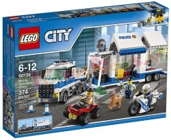 LEGO CITY POLITIE MOB. COMMANDOCENTRALE