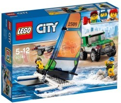 LEGO CITY 4X4 MET CATAMARAN
